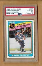 1984-85  O-PEE-CHEE  Wayne Gretzky  goals leader  #381  PSA 10
