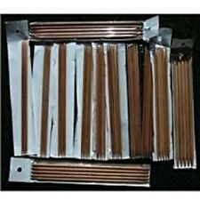 "12 sets 8"" Bamboo Knitting Needles DP (US 0-10.5)"