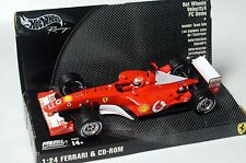 ★★★HOT WHEELS RACING 1/24 MICKAEL SCHUMACHER FERRARI 2002★★★
