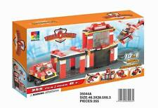 Woma Feuerwehr Station m. Helikopter und Auto 10 in 1 373 Teile 35044A