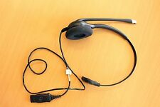 Plantronics SupraPlus HW251N/A Headset monaural Noise Cancelling guter Zustand