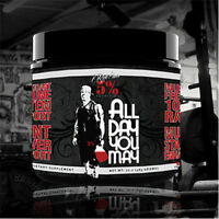 5% NUTRITION ALL DAY YOU MAY 30 SERVINGS bcaa amino glutamine rich piana kill it