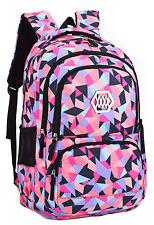 Girl Flower Printed Waterproof Rucksack Backpack School Bag Bookbag35L,StyleB