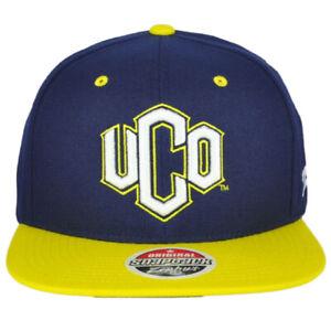 NCAA Zephyr Central Oklahoma UCO Adult Flat Bill Snapback Men Adjustable Hat Cap