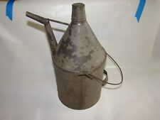 Vintage Antique  Kerosene Oil Can With Handle