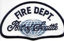 "Port of Seattle  Fire Dept., Oregon  (5"" x 3"" size) fire patch"