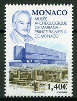Monaco Stamps 2020 MNH Mariana Museum of Archaeology Prince Rainer III 1v Set
