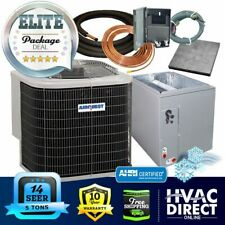 5 Ton 14 SEER AirQuest-Heil by Carrier AC+Coil System, Line Set Install Kit