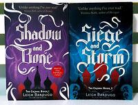 The Grisha Book 1 & 2; Fantasy Novel Series by Leigh Bardugo!