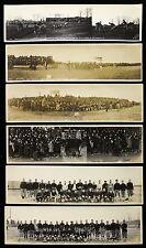 "1919 University of Maine Black Bears Football 3 1/4"" x 12"" Photos - Lot of 6"