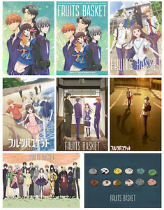 Fruits Basket Poster Anime Manga Print Art Wall Decor A3 A4 5x7 Satin Matt Gloss