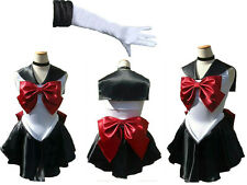 Sailor Moon sailormoon cosplay costume sailor Pluto trista short Glove and Tiara