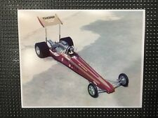 """Vintage THORP DRAGSTER 1/8 RC Car 8"""" X 10"""" Color Photo Pomona CA RC Racing"""