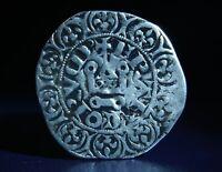 France - Charles IV (1323) - SILVER Coin Mesh White