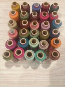 10 piece  Polyester Sewing Thread  Hand Stitching 200 Yard Each Spool