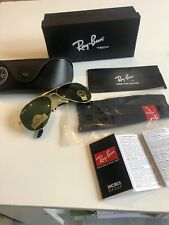 new Men/ Unisex ray ban sunglasses RB3026 Avatar Metal Gold Larg R2014 Green