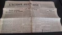Diario Nacionalista ACCIÓN Francesa 15 Mayo 1934 N º 135 ABE
