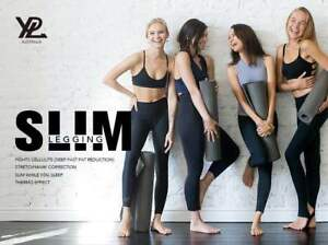 YPL Slim Legging Black Free Size Sexy Deep Fast Fat Reduction AU Stock