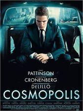 Affiche Pliée 40x60cm COSMOPOLIS (2012) David Cronenberg - Robert Pattinson NEUV