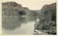 Grand Coulee Washington Wentachee Lake 1920s RPPC Photo Postcard 3264