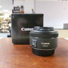 Used Canon EF 50mm f1.8 STM lens - 1 YEAR GTEE