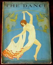 The Dance Magazine ~ March 1929 ~ Carl Link Art Deco Cover
