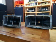 Altec Lansing 811 Horns Black and Silver Textured