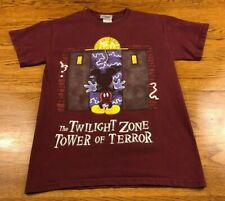 Disney Mickey Mouse Twilight Zone Tower Of Terror T Shirt Adult S Small