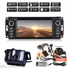 Camera +Single 1Din Car Radio Stereo GPS DVD CD Player Canbus For Jeep Wrangler