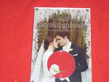 TWILIGHT BREAKING DAWN PART 1  COLLECTABLE CONTAINS AUTHENTIC PROP FLOWERS