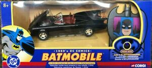 "Corgi 1/24th Scale 1960's Batmobile With ""Talking"" Bat Communicator (MISB) 1966"