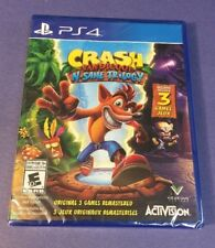 Crash Bandicoot N Sane Trilogy [ 3 Games in 1 Pack ] (PS4) NEW