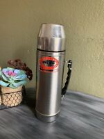 Vintage UNO-VAC Thermos Stainless Steel Unbreakable Made In USA