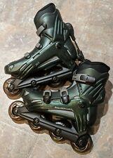 Rollerblade Viablade Hwy 7 Triforce Inline Skates Mens 7 Bonus Elbow & Knee pads