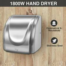 Electric Auto Hand Dryer 1800W High Speed Commercial and Household Use omt