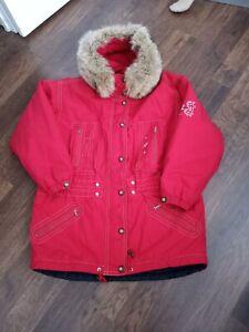 bogner ski jacket women size 12