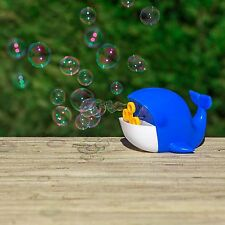 New Battery Operated Bubble Whale 4 Wand Blowing Machine US Seller Free Shipping