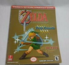 Legend of Zelda LINK TO THE PAST + FOUR SWORDS Prima Official Guide GAME BOY ADV