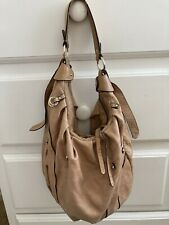 Purse Guess Brand Soft Tan Leather Fall Handbag Pre-owned/Used Condition