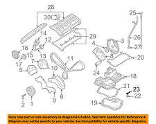 AUDI OEM 04-09 S4 Engine Parts-Drain Plug Washer N0138503