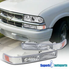 For 1998-2004 Chevy S10 Blazer GMC Sonoma Trunk Pickup Front Bumper Lights