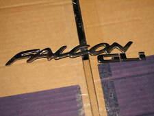 FORD EF FALCON GLI REAR ( FALCON GLI ) BADGE