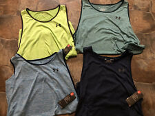 New!Mens UnderArmour Athletic Fit Tech TankTop Choose Sz/Color)Each Sold Separat