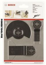 ORIGINALE Bosch GOP PMF Multi Tool Blade Set 2608662343 x 3165140779654 #