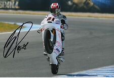 Francesco Bagnaia Hand Signed 12x8 Photo Aspar Mahindra 2016 Moto3 MOTOGP 11.