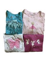 Lot NWT Girls Long Sleeve Top Butterfly Ballerina Fairies 5 6