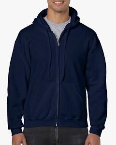 Gildan® Heavy Blend™  Adult Full Zip Hoodie NAVY