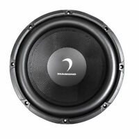 """Diamond Audio D104 400 Watts 10"""" Inches Dual 4 Ohm D Series Car Stereo Subwoofer"""