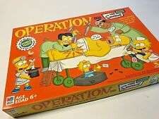 Milton Bradley Operation The Simpsons Edition - 2005 - Complete In Box 100%