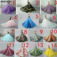 Limited Handmade Wedding Doll Dress Evening Party Clothes  For 11.5 Inch Doll